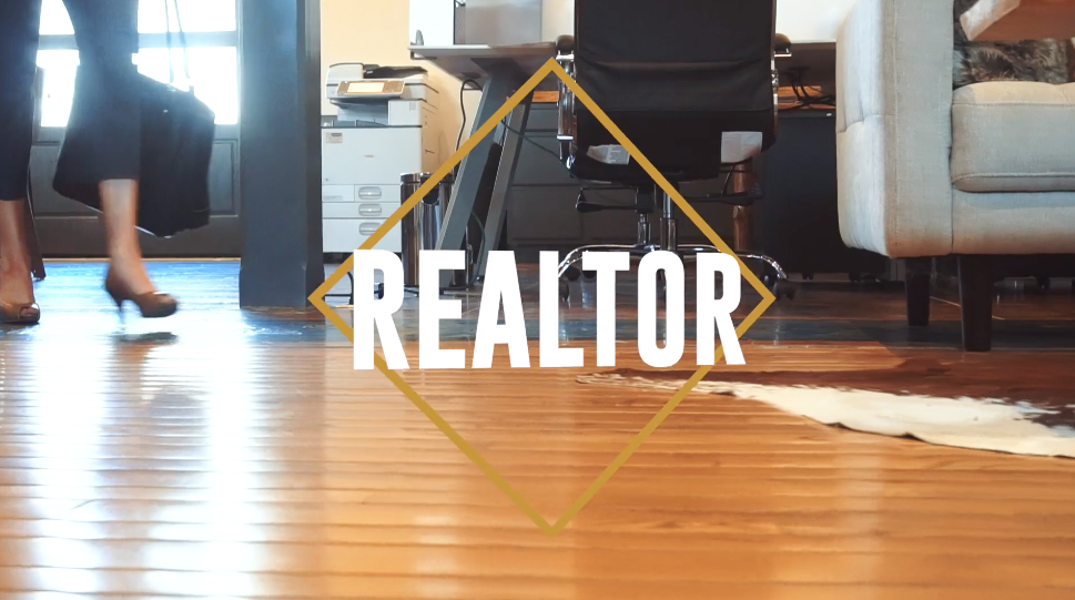 Video business card for a realtor